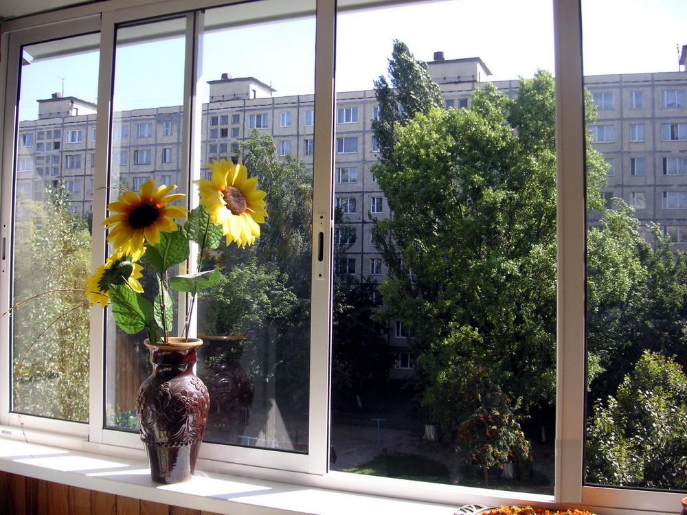 Остекление балконов в крыму остекление алюминиевым профилем,.