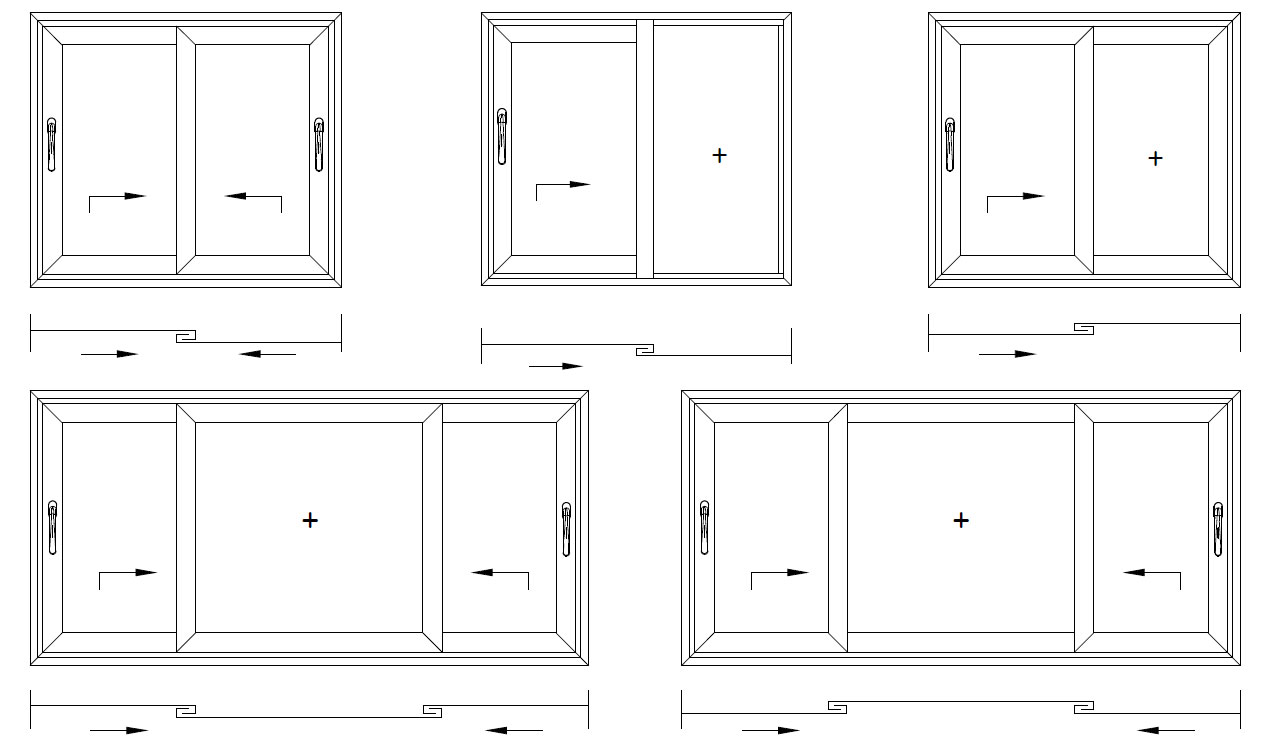 Конструкция раздвижных окон в Крыму, алюминиевые раздвижные окна цена Симферополь Севастополь Ялта