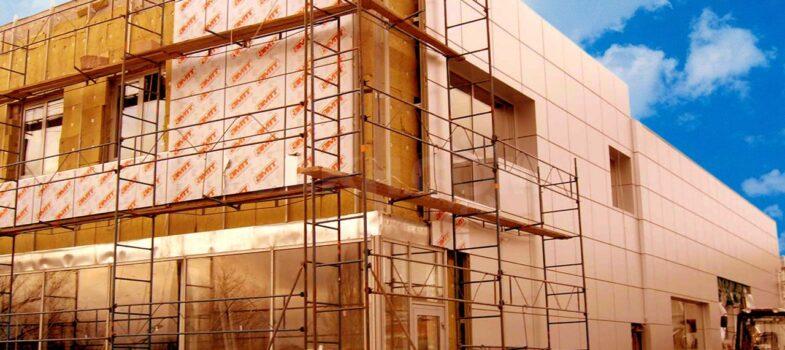 Монтаж вентилируемых фасадов по Крыму фасады Симферополь Севастополь Ялта Евпатория